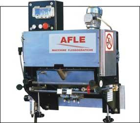 Машины для флексографии, применяемые для нанесения изображений на пластиковую плёнку в рулонах или листах