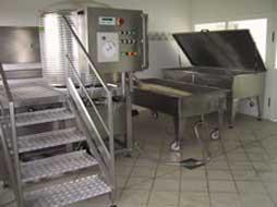 Мини-сыроваренный завод серии PM400 на производительность 500 литров/цикл